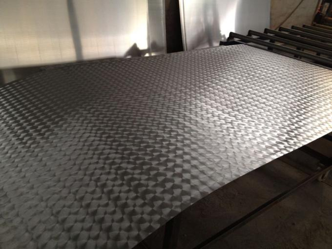 Customized Stucco Embossed Aluminum Sheet Plate Type
