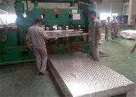 3003 H14 Five Bars Corrugated Aluminum Sheet 1220 * 2440mm Corrugated Aluminum Panels