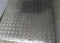 China 1220mm * 2440mm Color Coated Stucco Embossed Aluminum Sheet / Aluminium Sheet Anti Rust factory