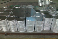China Good Formability Hot Rolling Aluminium Disk For Deep Drawing / Spinning ISO9001 factory