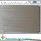 6063 T6 temper size 30mmX1220mmX2440mm aluminum brush sheet