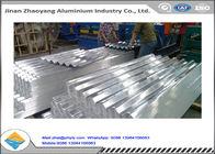 1050 1060 Corrugated Aluminum Ridge Tile / Embossed Aluminum Ridge Tile YX35-125-750