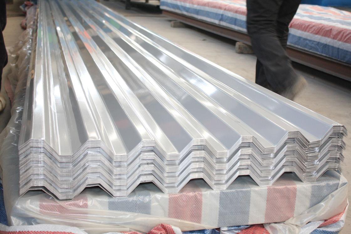 Polished Corrugated Standard Aluminum Sheet Thickness 0 5