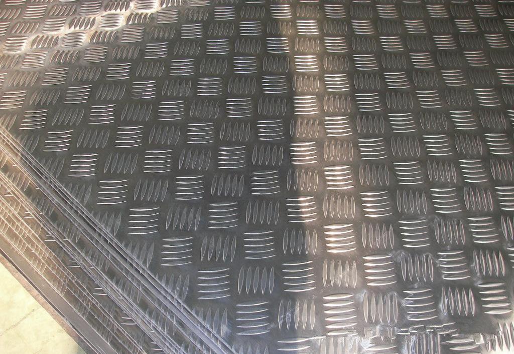 Stucco Embossed Aluminium Sheet Mill Finish Surface Highly