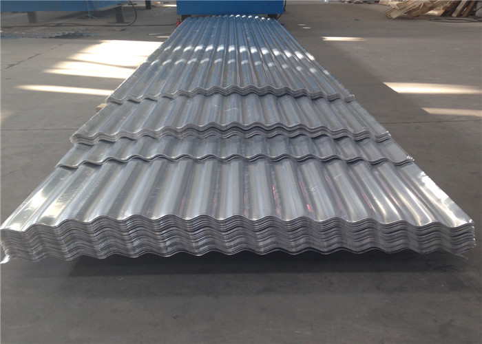 Coated Corrugated 0.23 - 0.7mm Thick Aluminum Sheet H14 H24 H18 H112 Waterproof