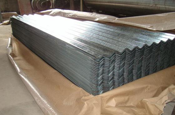 Corrugated Aluminium Roof Panels 29 Gauge Moisture Proof Aluminium Corrugated Sheet