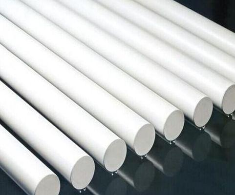 ISO 9001 Corrugated Seamless Aluminum Tubing , Extruded Aluminum Pipe For Decoration