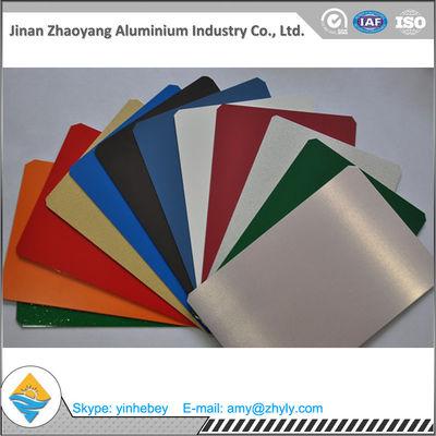 Building Aluminium Alloy Sheet RAL Color Coated Aluminium Sheet 1000mm Width