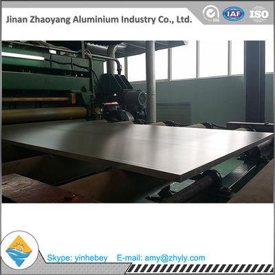 1220 Mm X 2440 Mm Mill Aluminium Alloy Sheet / 2.0mm 5052 Aluminum Plate
