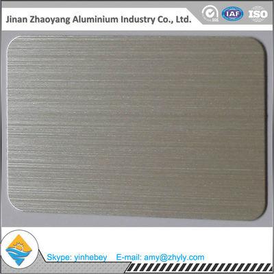 6063 T6 Temper Aluminium Alloy Sheet 30mm X 1220mm X 2440mm Aluminum Brush Sheet