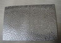 Stucco Embossed Aluminum Sheets 1060 , 3003 , 5052 Embossing Thin Aluminium Sheet