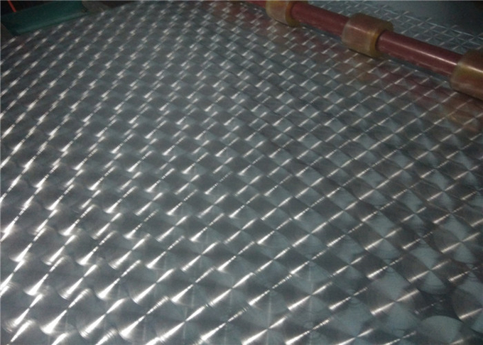 Easy Processing Embossed Hammered Aluminum Sheet 1000